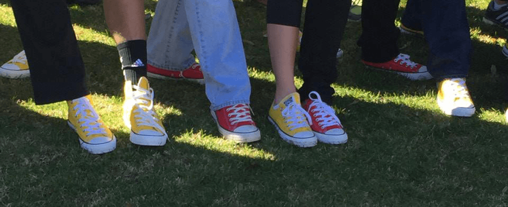 Red and Yellow Shoes!