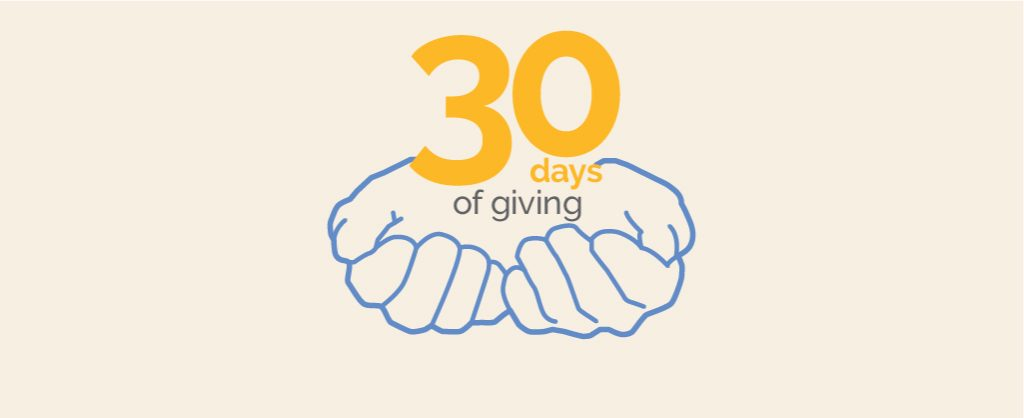 30 Days of Giving Logo