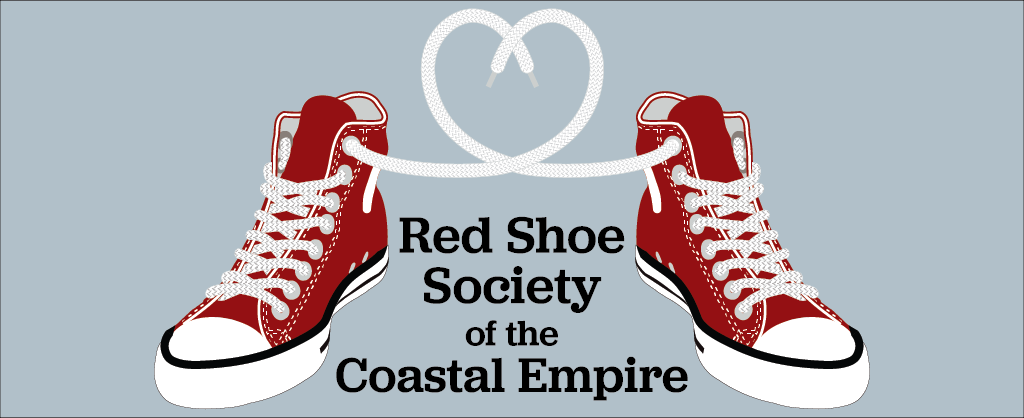 Red Shoe Society of the Coastal Empire Logo